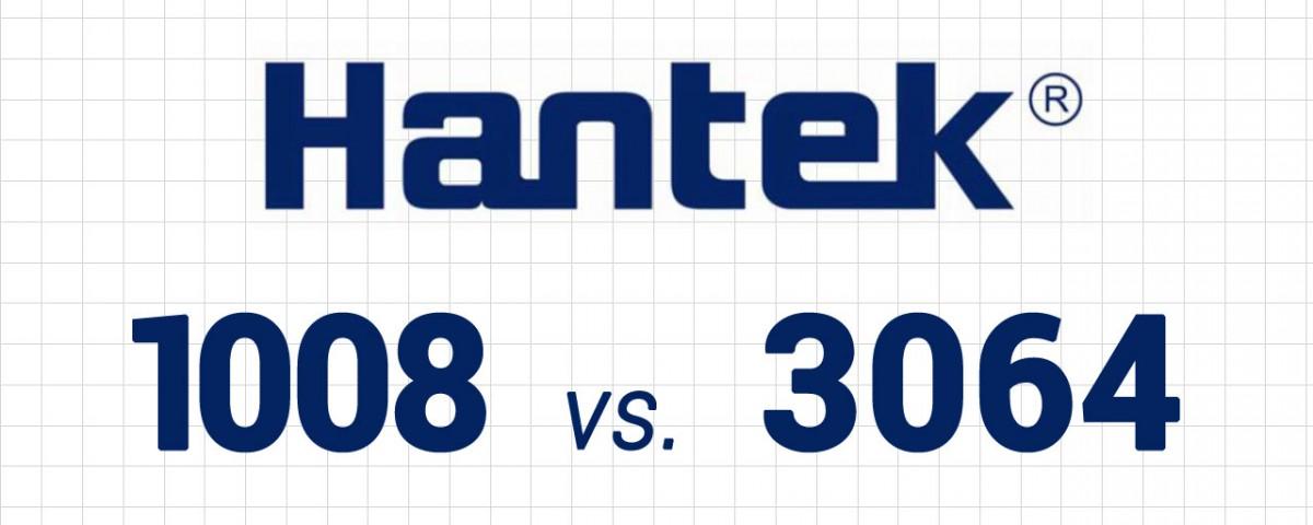 Hantek 3064(A) vs. Hantek 1008C